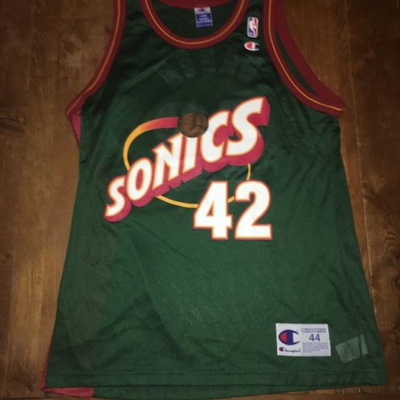 e0c01ad9 Champion Other - 🌶Seattle SuperSonics Jersey Baker. NBA Champion